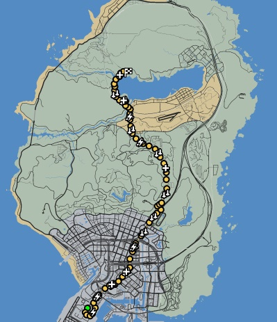 GTAO-The Great Adventurer Map