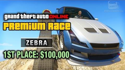 GTA Online - Premium Race 8 - Zebra (Cunning Stunts)