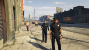 LSPD GTAVpc Foot Patrol