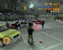 Grand Theft Auto III third view