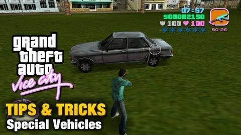 GTA Vice City - Special Vehicles