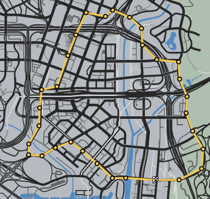 Panic Stations GTAOe Race Map