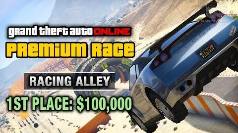 GTA Online - Premium Race 5 - Racing Alley (Cunning Stunts)
