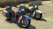 Soverign Police Bike GTAV Front Comparison