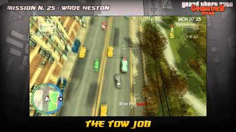 GTA Chinatown Wars - Walkthrough - Mission 25 - The Tow Job