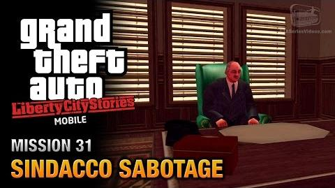 GTA Liberty City Stories Mobile - Mission 31 - Sindacco Sabotage