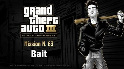 GTA 3 - iPad Walkthrough - Mission 63 - Bait
