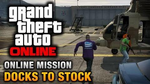 GTA Online - Mission - Docks to Stock Hard Difficulty