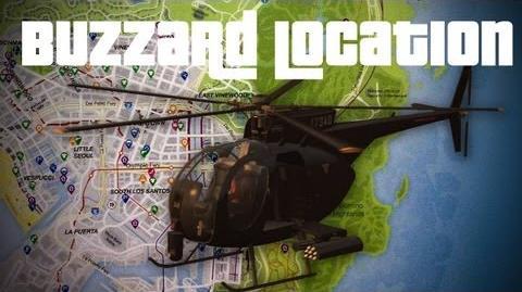 GTA V- Free Buzzard Location