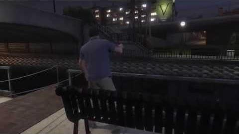 SwitchScenes GTAVe Michael Vespucci Canals Smoking
