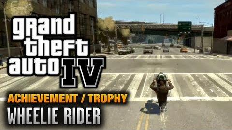 GTA 4 - Wheelie Rider Achievement Trophy (1080p)