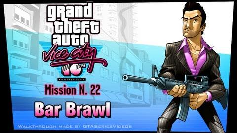 GTA Vice City - iPad Walkthrough - Mission 22 - Bar Brawl