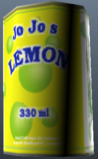 Jo jo's lemon cola