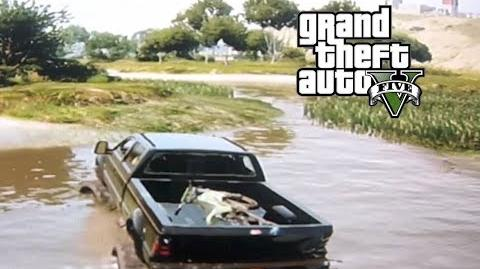 GTA 5 - Mudding and Hauling a Dirtbike