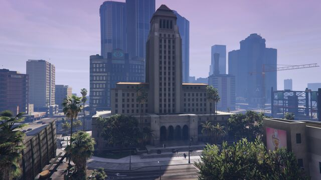 File:Los Santos City Hall GTAVe Overview.jpg