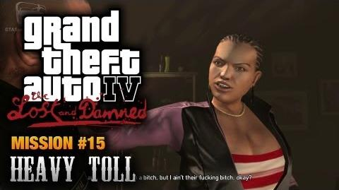 GTA The Lost and Damned - Mission 15 - Heavy Toll (1080p)