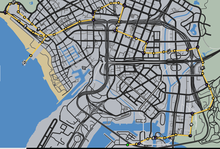Casal Dos Ferros Race GTAO Verified Map