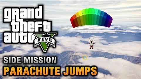 GTA V - Parachute Jumps