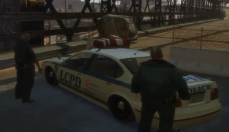 GTA IV - LCPD roadblock