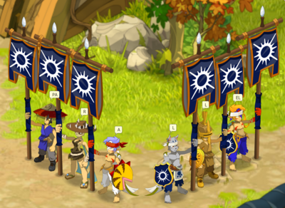 Guild screen
