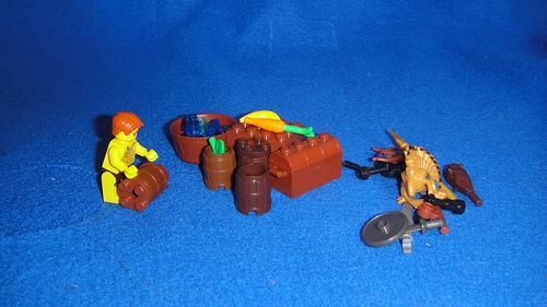 The Raft - Gathering Supplies