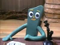 Gumby at his Desk