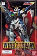HG 1-100 USA Boxart - Wing Gundam