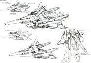 Lightning Gundam BWS rough sketch