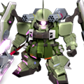 Unit cr slash zaku phantom