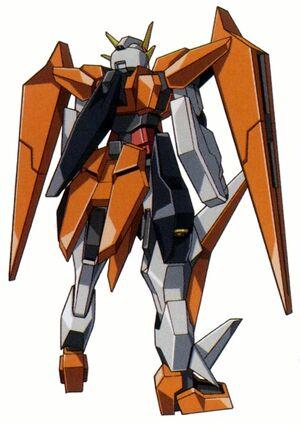GN-007 - Arios Gundam - Back View