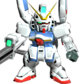 Unit as v-dash gundam