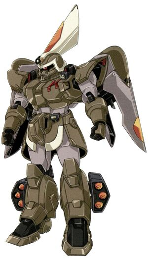 ZGMF-1017 - GINN Insurgent Type - Front View