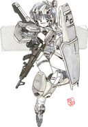 RGM-86R - GM III - MS Girl