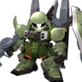 Unit c blaze zaku warrior