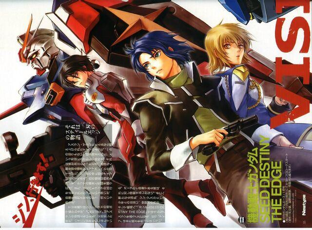 File:Mobile Suit Gundam SEED Destiny The Edge poster Newtype magazine.jpg
