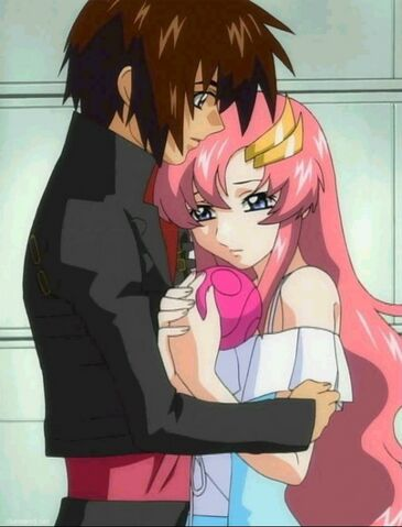 File:Kira Begs Lacus for Freedom Gundam.jpg
