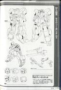 GN-008RE - Seravee Gundam II - Technical Detail & Design