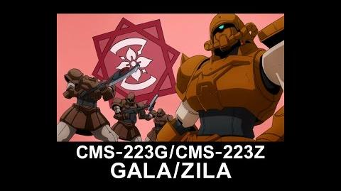 MSAG06 GALA ZILA (from Mobile Suit Gundam AGE)