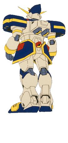 GF13-051NE Pharaoh Gundam XIII Back