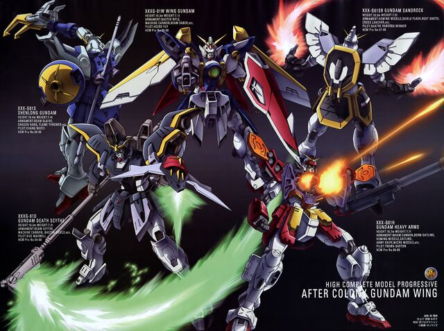 File:The Gundam Pilots - Gundam Mobile Suits.jpg