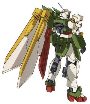 Wing Gundam Fenice - Rear