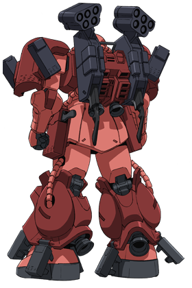 Zaku Amazing Rear