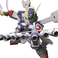 Unit ss crossbone gundam x1 skull heart