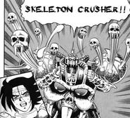 Skeleton gundam attack