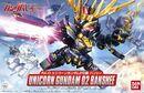 BB Senshi Unicorn Gundam 02 Banshee