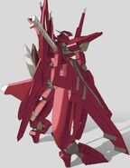 GNW-20000 Arche Gundam Back