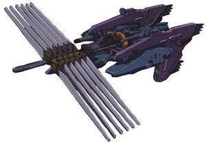 Nazca class destroyer (neutron stampeder) (gundam)