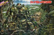 Zaku tank jungle