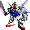 Unit as sword strike gundam