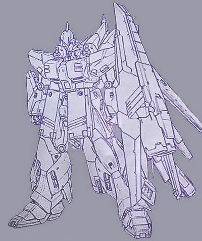 File:MG Hi-Nu Gundam Ver.Ka HWS - Lineart.png